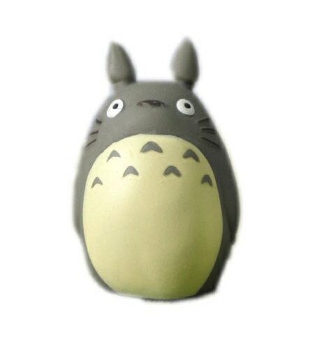 【真愛日本】10102700066  指套娃娃-灰龍貓站立   龍貓 TOTORO 豆豆龍 公仔 擺飾 收藏 玩具 正品 限量