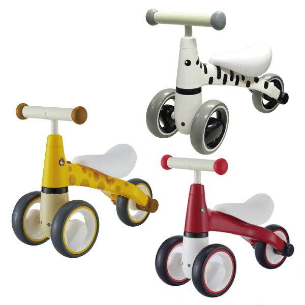 lebei 樂貝 幼兒平衡滑步車(賽車紅/長頸鹿/斑馬)