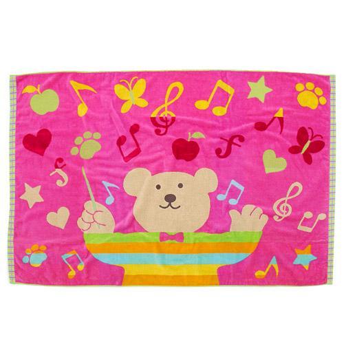 彩虹熊海灘巾825-684