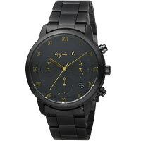 agnès b.眼鏡推薦到agnes b.法式簡約太陽能計時腕錶 VR42-KGD0SD  BZ5005P1就在寶時鐘錶推薦agnès b.眼鏡