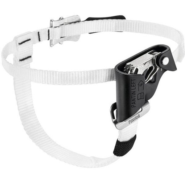 Petzl腳踏上升器輔助攀升器足式猶馬PANTIN左腳黑色B02CLA