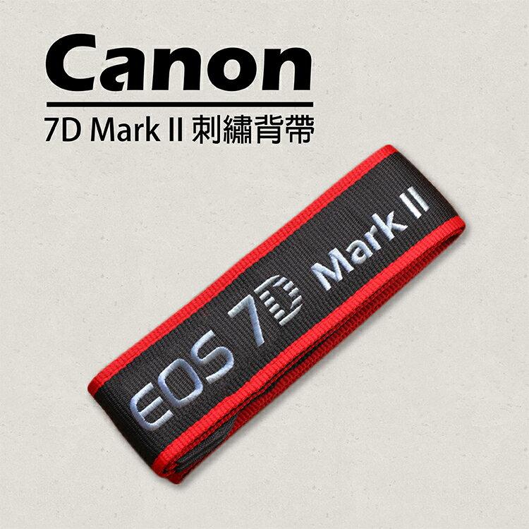 攝彩@Canon 7D2剌繡背帶 另售其他型號背帶 5D3 6D 7D 60D 70D 600D 650D