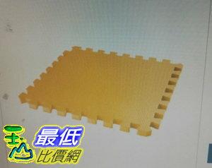 [COSCO代購 如果沒搶到鄭重道歉] 3M 安全防撞巧拼地墊 45*45cm - 黃色 W113241