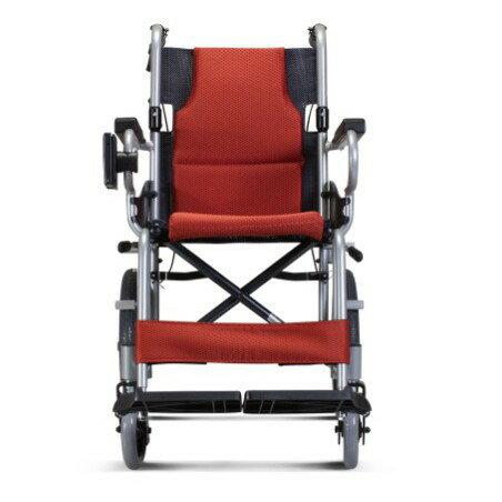 《好禮4選2》康揚KARMA鋁合金手動輪椅KM-2500(小輪)(可代辦長照補助款申請)KM2500