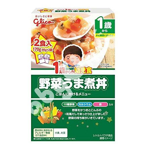 Glico固力果 - 蔬菜燉肉丼* 幼兒食品調理包 (蔬菜燉煮丼)