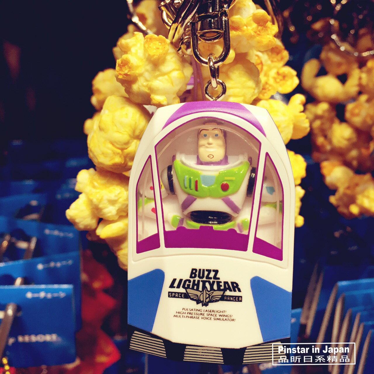 【真愛日本】18012600011 樂園限定鎖圈-爆米花筒巴斯光年 巴斯 爆米花鑰匙圈 吊飾 日本迪士尼樂園帶回