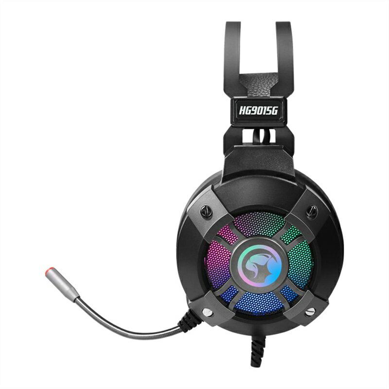 【MARVO】 HG9015G RGB電競耳罩式耳機 電競耳機 電競耳麥 遊戲耳機 耳機麥克風 電腦耳機【迪特軍】