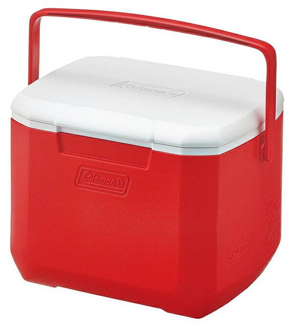 【Coleman 美國】15L Excursion 手提冰箱 冰桶 保鮮桶 保冰箱 美利紅 (CM-27860M000)