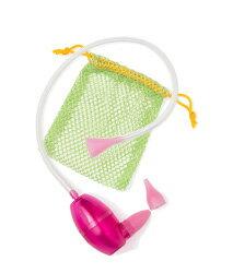 【淘氣寶寶】美國BabyComfy寶康福嬰幼兒護理系列自控式手動吸鼻器-粉紅色