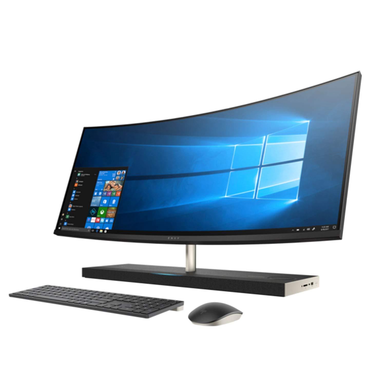 HP Envy 34 Curved Premium All-in-One AIO Desktop (Intel 8th Gen i7-8700T 6-Core, 16GB RAM, 2TB HDD + 1TB PCIe SSD, GeForce GTX 1050 4GB, 34 inch Curved QHD 3440 x 1440, WiFi, Bluetooth, Win 10 Home) 2