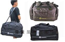~雪黛屋~CONFIDENCE 旅行袋大容量台灣製造防水尼龍布1680D材質U型大開口方便取放大型物品ACB8551