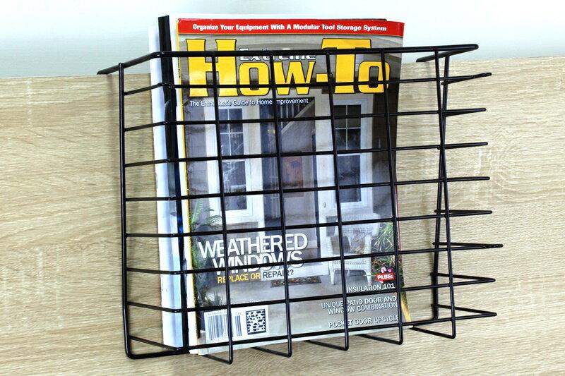 【凱樂絲】媽咪好幫手DIY櫃子鐵線收納籃(吊架式) - 小型, 垂直空間利用-組合式  廚房, 浴室, 客廳, 衣櫃, 櫥櫃適用 0