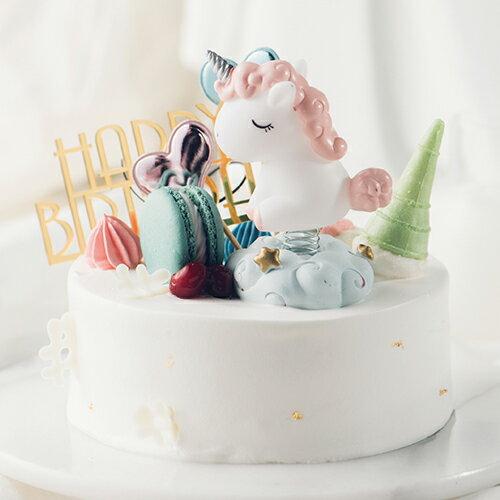 獨角獸童話  8吋【PATIO帕堤歐】造型蛋糕/生日蛋糕/卡通蛋糕