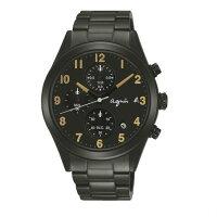agnès b.眼鏡推薦到agnes b VD57-KT20K(BM3010X1)黑金巴黎時尚計時腕錶/黑面40mm就在大高雄鐘錶城推薦agnès b.眼鏡