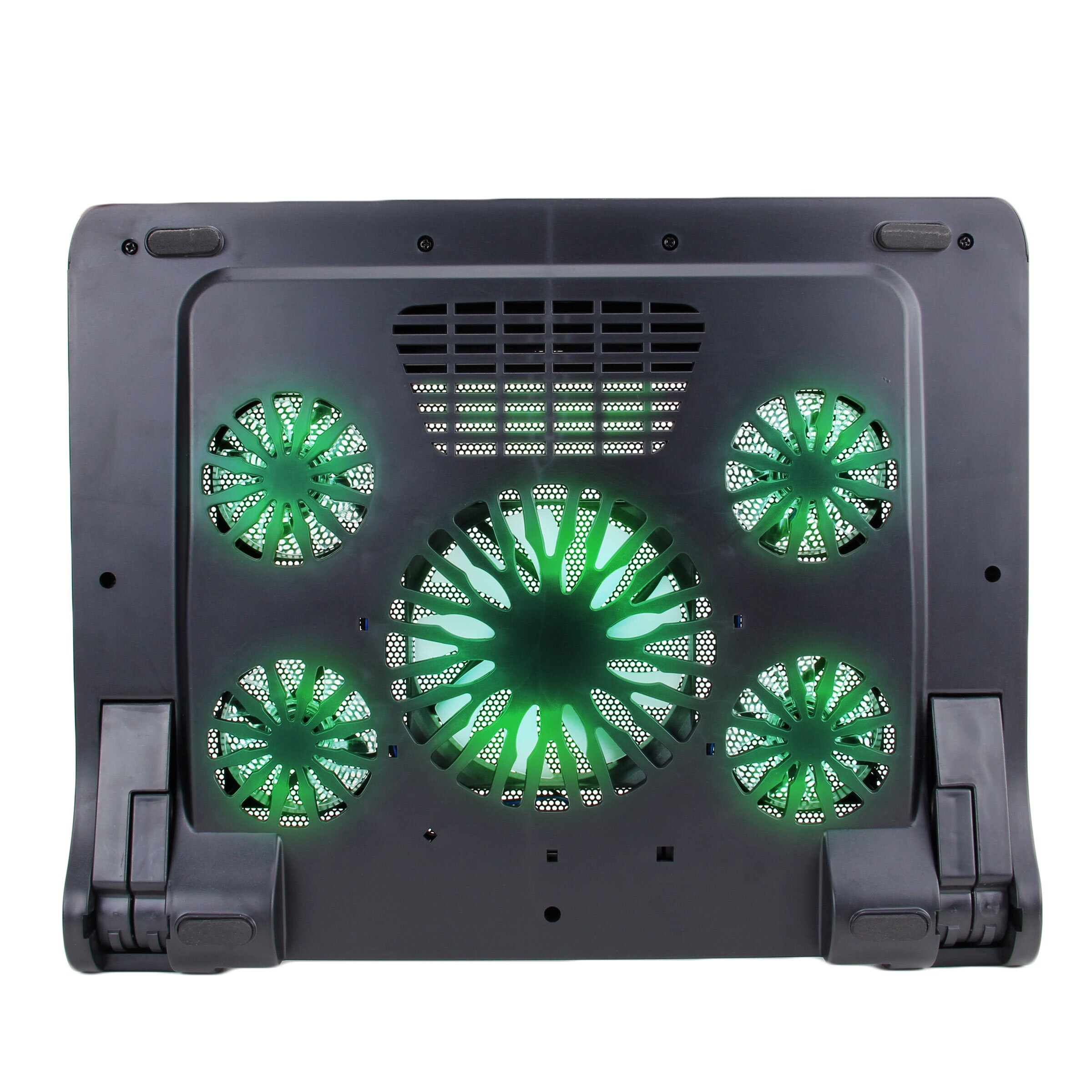 ENHANCE GX-C1 Laptop Cooling Stand (15.75? x 12.75?) with 5 LED Fans & Dual USB Ports 7