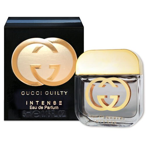 GUCCI GUILTY INTENSE 罪愛女性淡香精 馥郁版 5ML ~真愛香水~