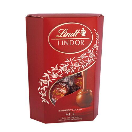 瑞士蓮LINDOR 牛奶巧克力16入【愛買】