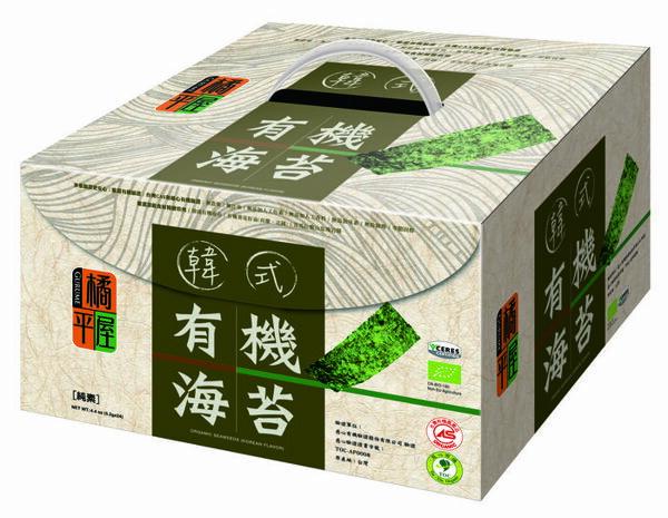 【橘平屋】韓式有機海苔禮盒