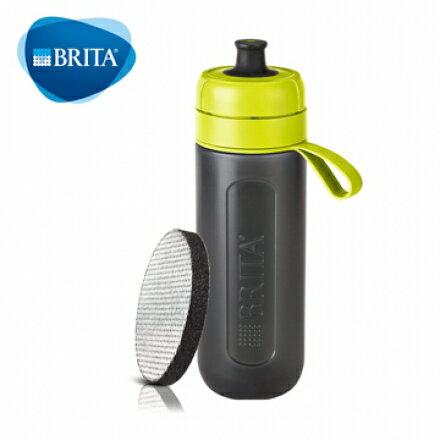 快樂老爹:【德國BRITA】Fill&GoActive運動濾水瓶(綠色)S1021553【內含濾片*1】