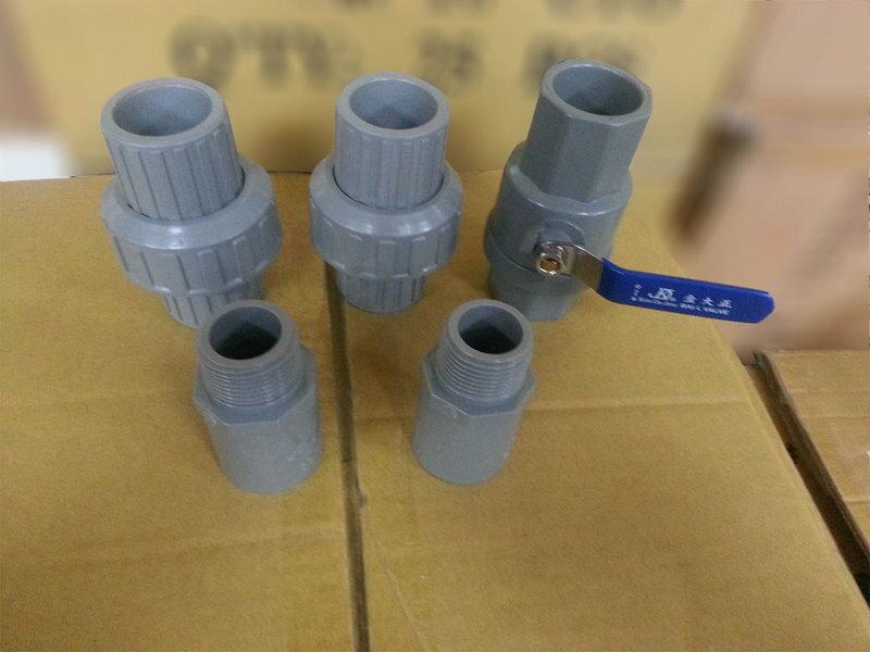 三道腳架型水塔過濾器、淨水器,配置NSF濾心《一透明+二藍瓶》ISO台製5399元
