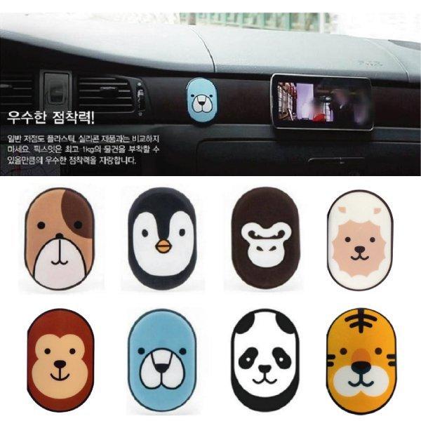 韓國Fixit 新款多功能 動物造型萬用貼/手機貼【櫻桃飾品】【20700】