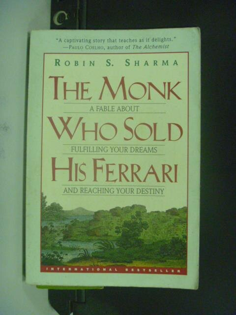 ~書寶 書T5/原文小說_OEZ~The Monk Who Sold His Ferrar