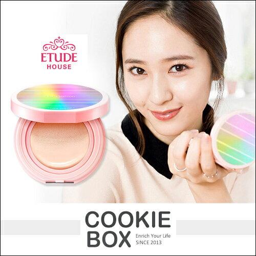 韓國 ETUDE HOUSE Any Cushion 晨光 氣墊 粉餅 新款 14g 底妝 krystal *餅乾盒子