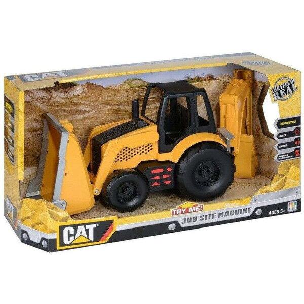 東喬精品百貨商城:《CAT-玩具車》工作站工程車組-反鏟機