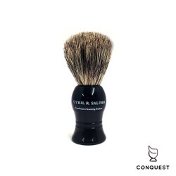 【CONQUEST】英國 Cyril R Salter 手工獾毛刷 鬍刷 鬍泡刷 刮鬍刷 Shaving Brush