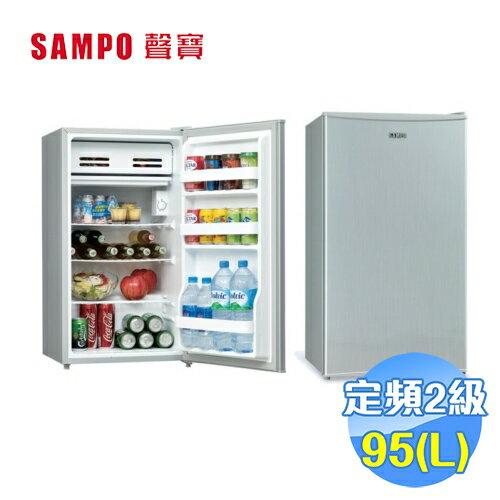 聲寶SAMPO95公升單門冰箱SR-A10