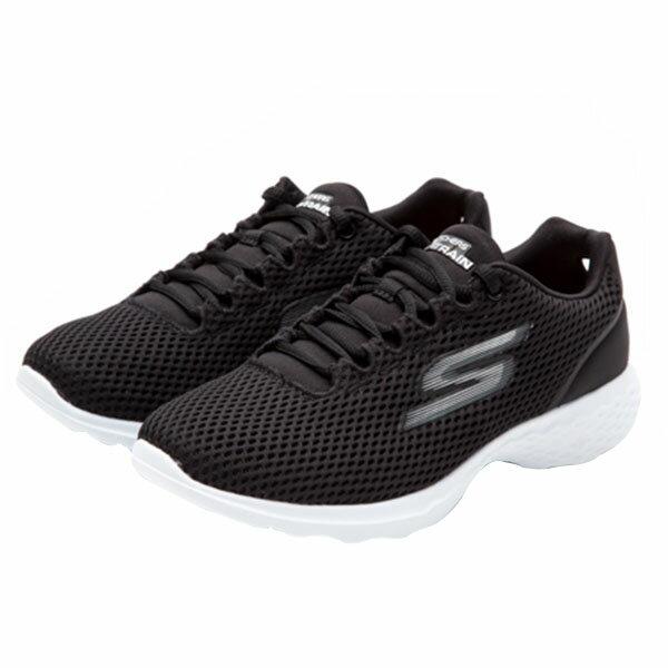 【SKECHERS】 運動鞋 慢跑鞋 黑色(女)-14830BKW