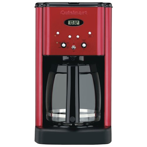 Cuisinart Brew Central DCC-1200 Brewer - 12 Cup(s) - Red 80e88bcff356d0054b16786742c4091c