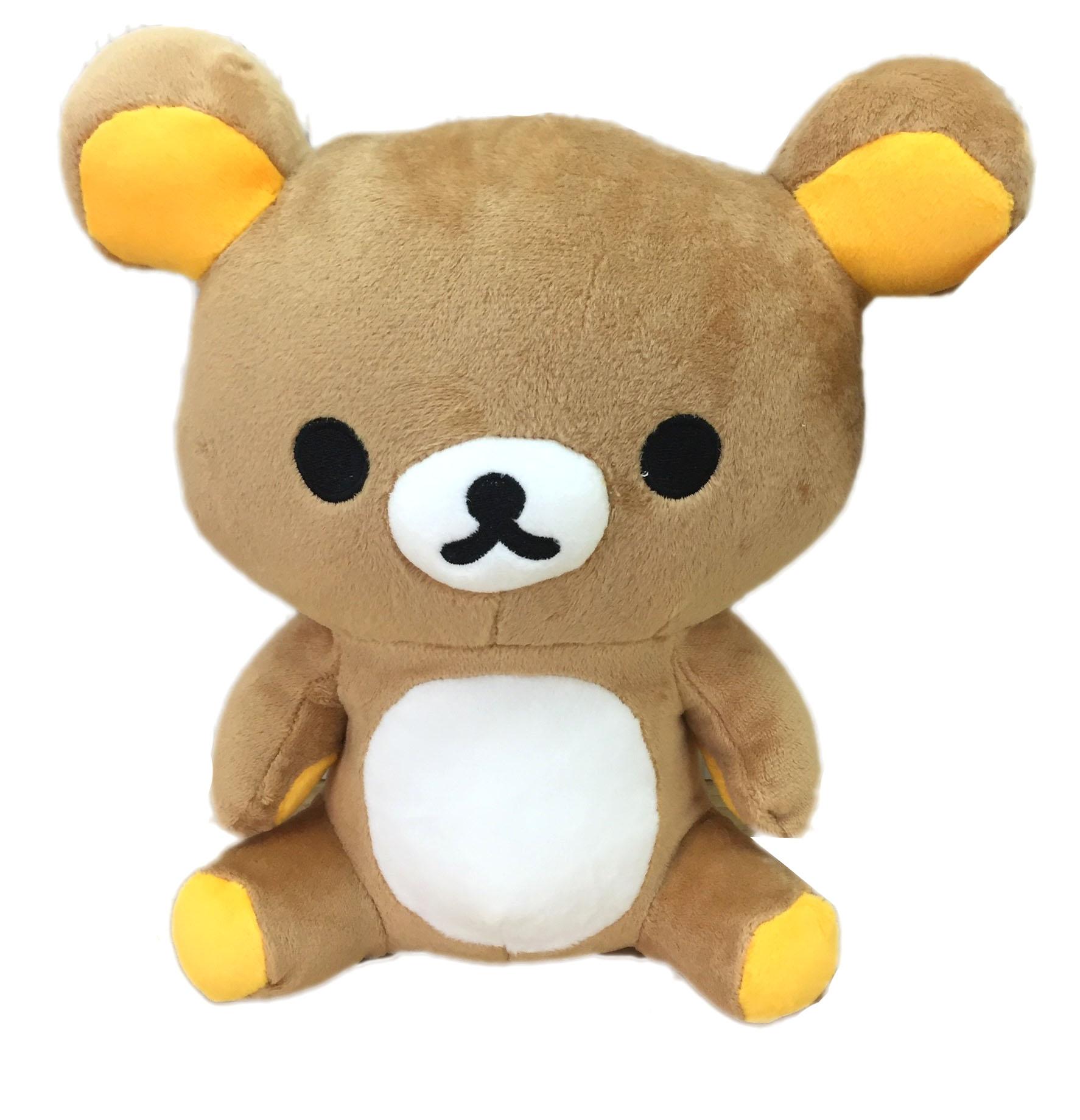 【真愛日本】16072700001全身坐娃-10吋懶熊   SAN-X 懶熊 奶妹 奶熊 拉拉熊 娃娃  玩偶