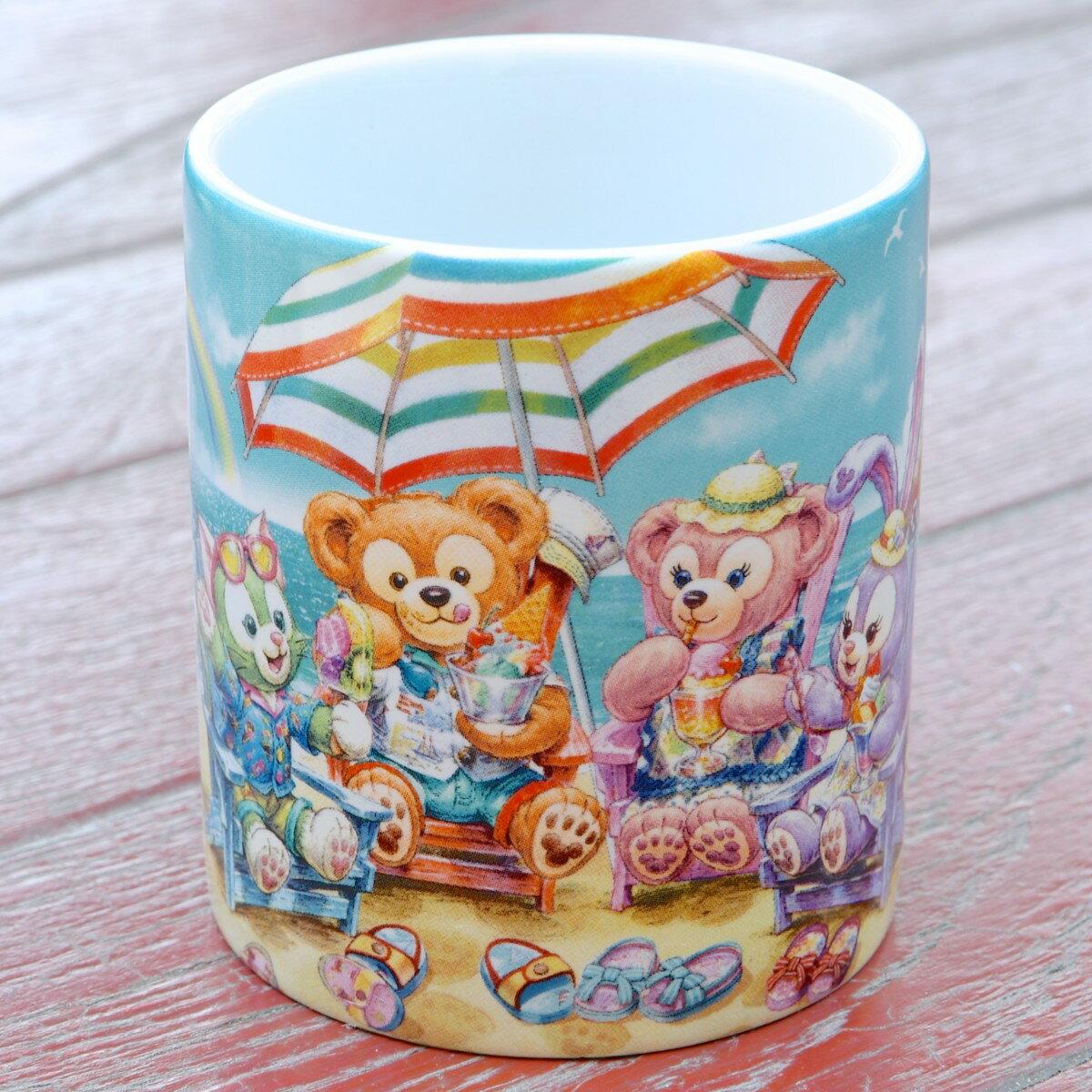 日本東京迪士尼代購- 夏季限定 達菲Duffy小餐杯,水杯 / 馬克杯 / 情侶對杯 / 湯杯 / 玻璃杯 / 不鏽鋼杯 / 漱口杯,X射線【C010005】 0
