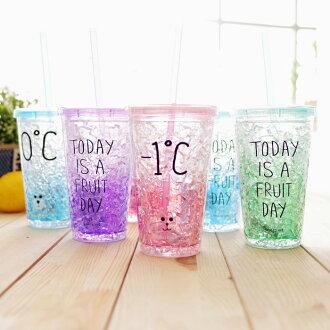 吸管水杯 保冰杯 野餐水杯 隨行杯 現+預【SV6581】快樂生活網