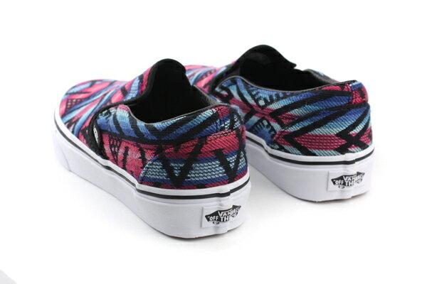 VANS Classic Slip-On 休閒鞋 黑紅 男女款 62010817 no453 1