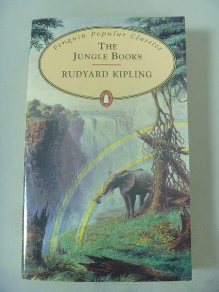 【書寶二手書T6/原文小說_IBF】The Jungle Books (Penguin Popular Classics