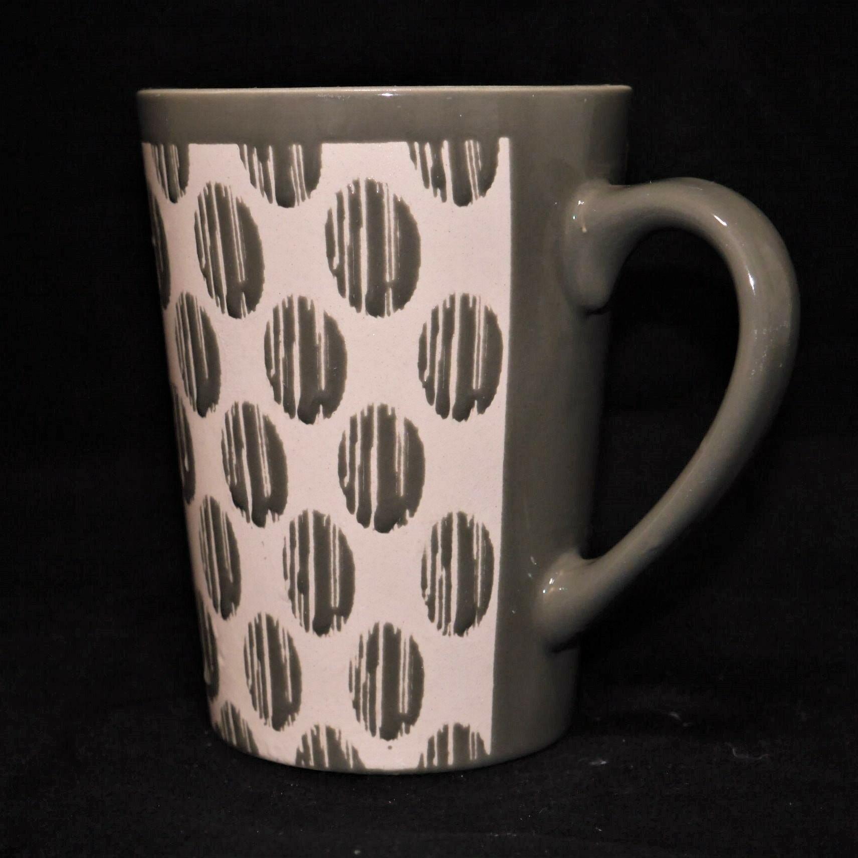 mug/馬克杯灰色幾何紋500ml【曉風】 1