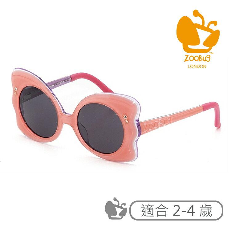 英國【ZOOBUG】兒童太陽眼鏡(2-4歲) 蝴蝶框系列-R01