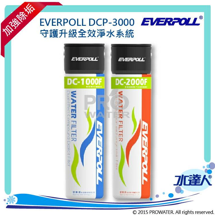 守護升級全效淨水組(DCP-3000) /淨水器DCP3000-愛惠浦科技 EVERPOLL