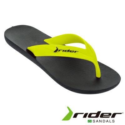 Rider 巴西 | Rider STRIKE AD 流行潮拖 黑/綠 | 秀山莊(R18166620534A)
