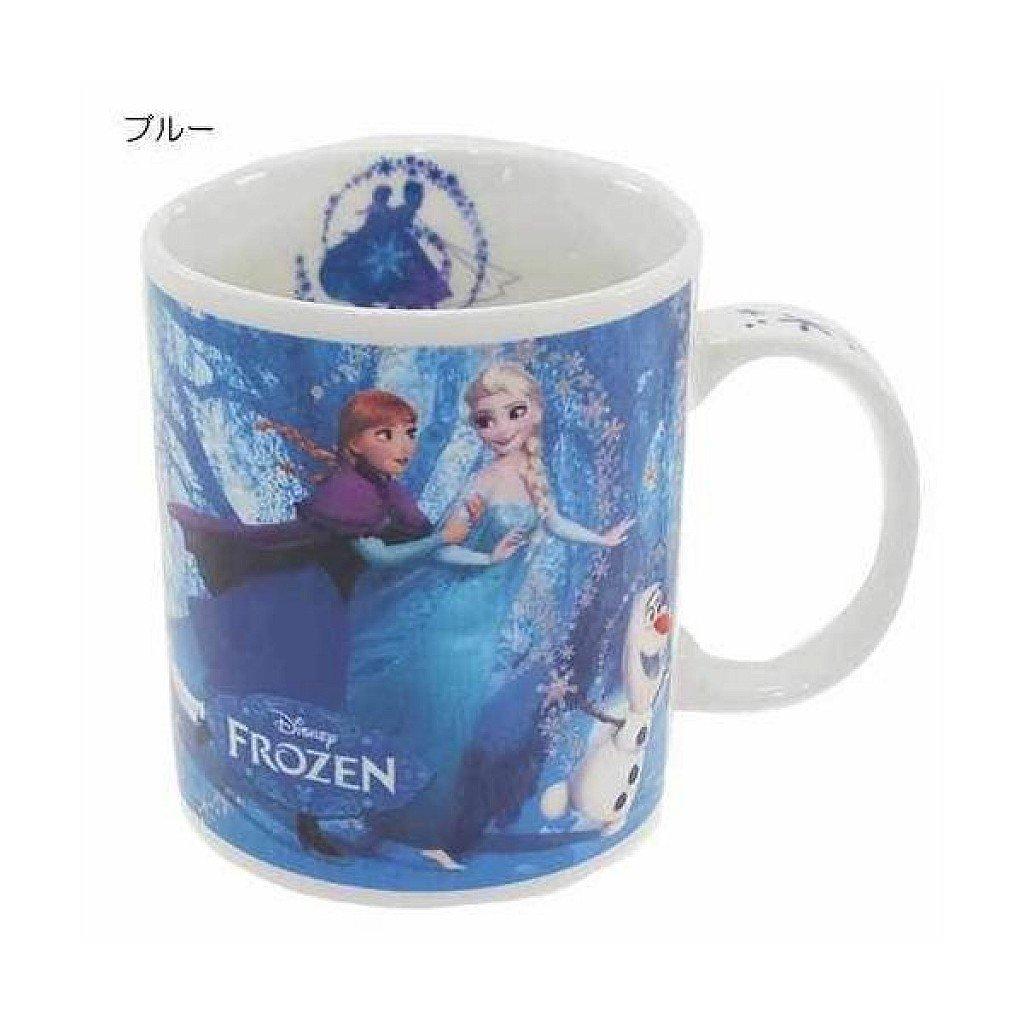 【真愛日本】17100600003 馬克杯-艾紗&安娜森林 迪士尼 冰雪奇緣 艾莎公主 Elsa 雪寶 杯子 水杯