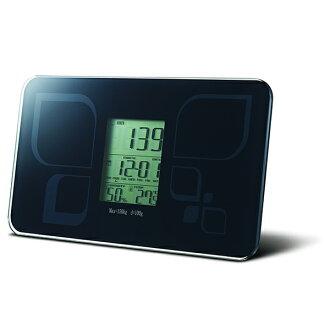 六合一(體重計,日曆,時鐘,溫度,濕度,鬧鐘)體重計 SP-1602 *免運費*