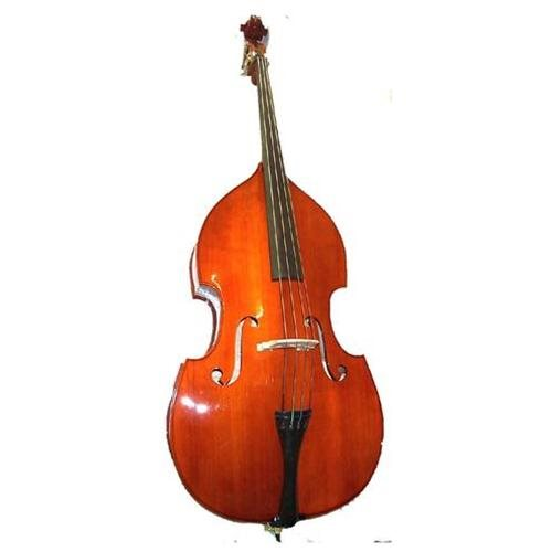 Merano MB100 4/4 Size Double Bass with Bag and Bow 0