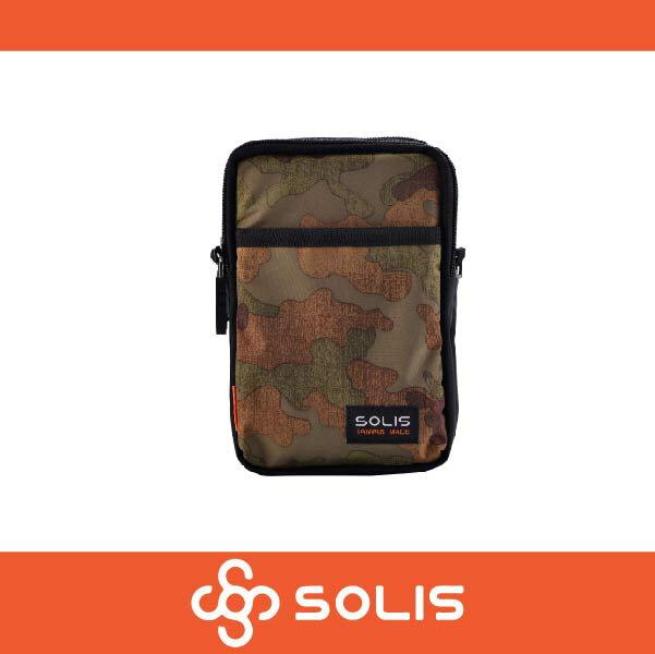 SOLIS B07009 狩獵迷彩系列多功能萬用包 側背包 腰包 防潑水 咖啡色 萬特戶外運動