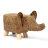《麗亞》淺棕大象 動物 椅凳 矮凳 穿鞋凳 腳凳 造型椅 兒童椅 四腳凳 牛 河馬 大象 三色可選 !新生活家具! 樂天雙12 0
