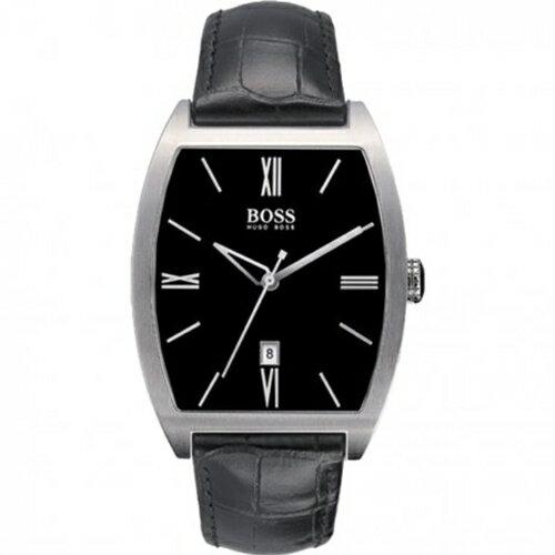 Hugo Boss Black簡約流線時尚男錶/H1512022