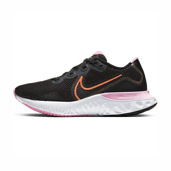 【NIKE】WMNS NIKE RENEW RUN 慢跑鞋 輕量 網布 緩震 黑粉 女鞋 -CK6360001