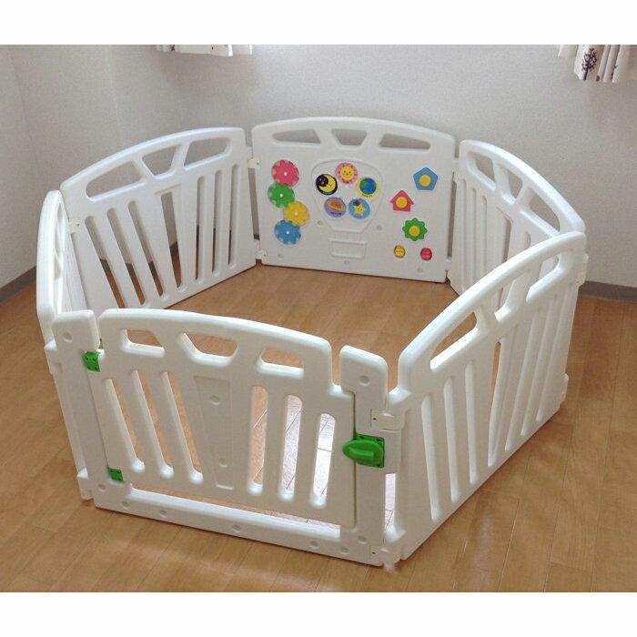 日本JTC--兒童遊戲圍欄六片型 安全圍欄 嬰兒護欄 寶寶柵欄 幼兒圍欄【J4869】