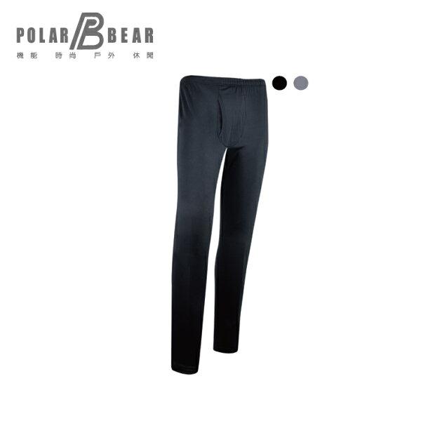 【POLARBEAR】男彈性日本DasThermometer保暖內著長褲